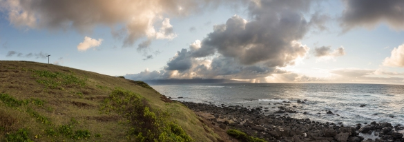 Clouds from Ho'okipa